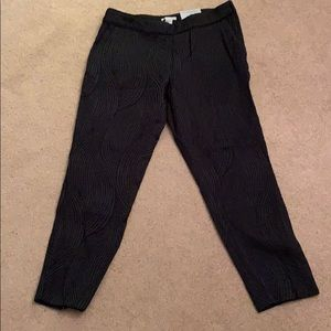 H&M Black skinny ankle pants